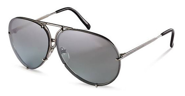 Porsche Design P8478 B grey gradient, s.m. + extra lens greentitanium