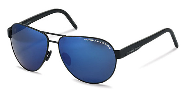 Porsche Design P8632 A strong dark blue mirror 90%