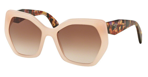 Prada PR 16RS UEW0A6 BROWN GRADIENTOPAL PINK