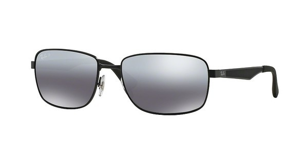 Ray-Ban RB3529 006/82 GREY MIRROR SILVER GRAD POLARMATTE BLACK