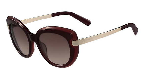 Salvatore Ferragamo SF813S 629 DARK BURGUNDY-RED