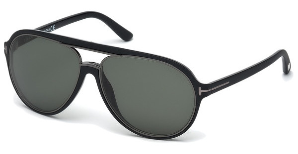 Tom Ford FT0379 02R grün polarieisrendschwarz matt