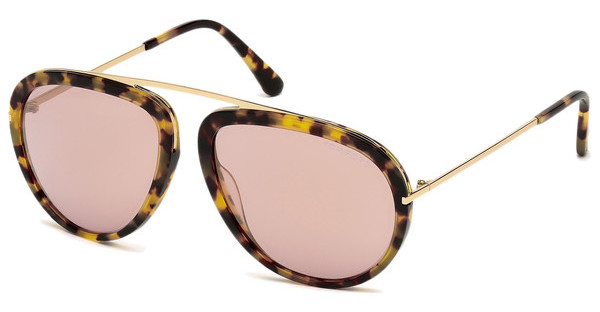 Tom Ford FT0452 53Z verspiegelthavanna blond