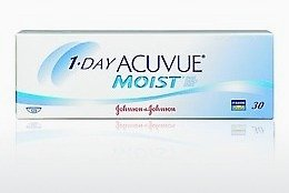 Contact Lenses Johnson & Johnson 1 DAY ACUVUE MOIST 1DM-90P-REV
