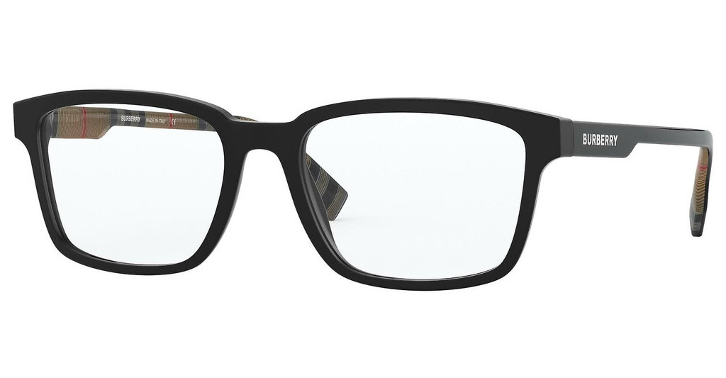 Burberry   BE2308 3464 MATTE BLACK