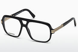 Eyewear Dsquared DQ5208 001 - Black, Shiny