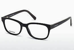 Eyewear Dsquared DQ5218 001 - Black, Shiny