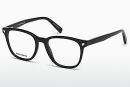 Eyewear Dsquared DQ5228 001 - Black, Shiny