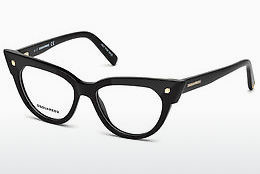 Eyewear Dsquared DQ5235 001 - Black, Shiny