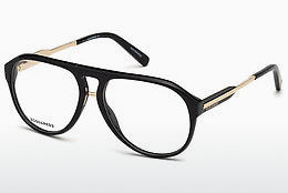 Eyewear Dsquared DQ5242 001 - Black, Shiny