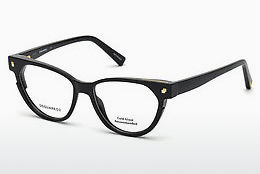 Eyewear Dsquared DQ5248 001 - Black, Shiny