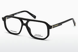 Eyewear Dsquared DQ5250 001 - Black, Shiny