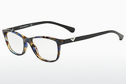 Eyewear Emporio Armani EA3099 5542 - Brown, Havanna, Blue