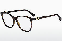Eyewear Fendi FF 0300 086 - Brown, Havanna