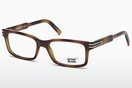 Eyewear Mont Blanc MB0668 052 - Brown, Dark, Havana