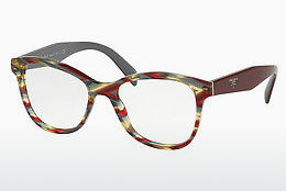 Eyewear Prada PR 12TV VAP1O1 - Red, Multi-coloured