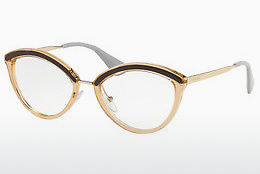 Eyewear Prada PR 14UV KOF1O1 - Brown, Pink