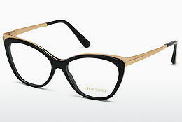 Eyewear Tom Ford FT5374 001 - Black, Shiny
