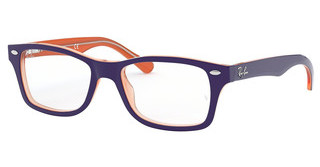 Ray-Ban Junior RY1531 3762 ORANGE TRASP ON TOP BLUE