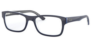 Ray-Ban RX5268 5815 GREY ON TOP BLUE