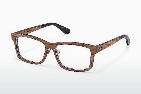 Eyewear Wood Fellas Haltenberg (10949 zebrano)