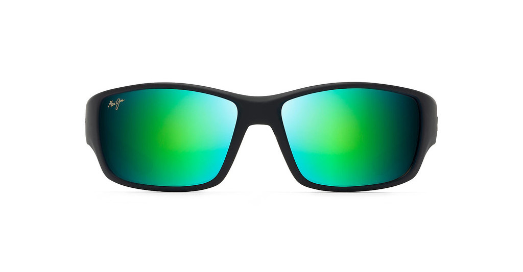 Maui Jim   Local Kine GM810-27M GreenSoft Black/Dark Trans. Green/Light Trans. gray