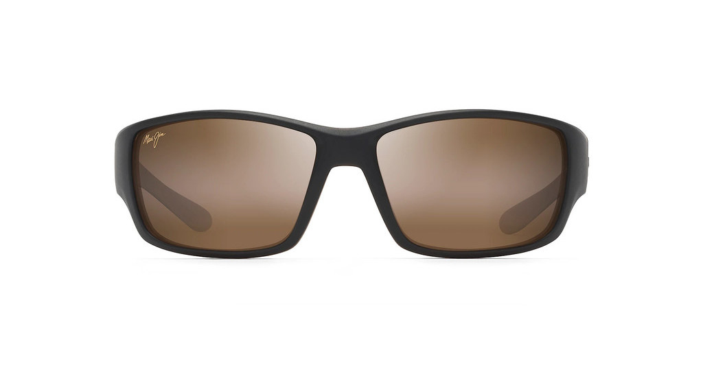 Maui Jim   Local Kine H810-25MC HCL BronzeMatte Dark Transparent Brown/Tan/Cream