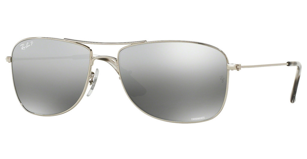 Ray-Ban   RB3543 003/5J GREY MIRROR SILVER POLARSHINY SILVER