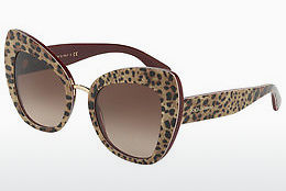 Ophthalmic Glasses Dolce & Gabbana DG4319 316113 - Leopard, Red