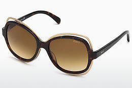 Ophthalmic Glasses Emilio Pucci EP0056 52F - Brown, Dark, Havana