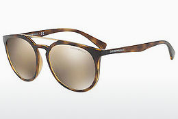 Ophthalmic Glasses Emporio Armani EA4103 50265A - Brown, Havanna