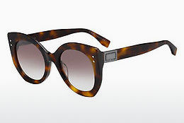 Ophthalmic Glasses Fendi FF 0265/S 086/NQ - Brown, Havanna