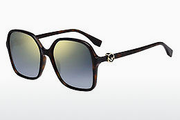 Ophthalmic Glasses Fendi FF 0287/S 086/FQ - Brown, Havanna