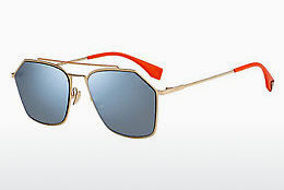 Ophthalmic Glasses Fendi FF M0022/S J5G/2Y - Gold