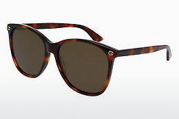 Ophthalmic Glasses Gucci GG0024S 002 - Brown, Havanna