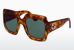 Ophthalmic Glasses Gucci GG0053S 002 - Brown, Havanna