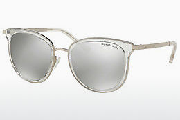 Ophthalmic Glasses Michael Kors ADRIANNA I (MK1010 11026G) - Silver, Transparent, White