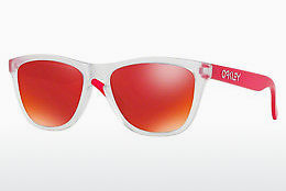 Ophthalmic Glasses Oakley FROGSKINS (OO9013 9013B3) - Transparent, White