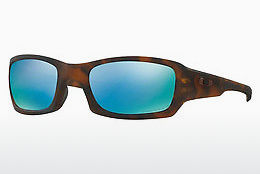 Ophthalmic Glasses Oakley FIVES SQUARED (OO9238 923817) - Brown, Havanna
