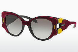 Ophthalmic Glasses Prada PR 10US I7Y0A7 - Red, Yellow, Brown