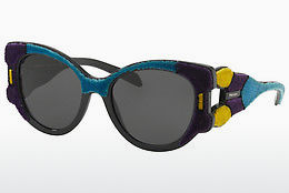 Ophthalmic Glasses Prada PR 10US N5B5S0 - Purple, Yellow, Blue