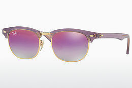 Ophthalmic Glasses Ray-Ban Junior Junior Clubmaster (RJ9050S 7036A9) - Transparent, Purple
