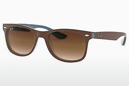 Ophthalmic Glasses Ray-Ban Junior Junior New Wayfarer (RJ9052S 703513) - Brown, Blue