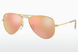 Ophthalmic Glasses Ray-Ban Junior Junior Aviator (RJ9506S 249/2Y) - Gold