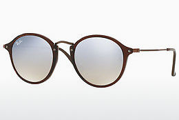 Ophthalmic Glasses Ray-Ban Round Flat Lenses (RB2447N 62569U) - Transparent, Brown