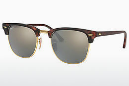 Ophthalmic Glasses Ray-Ban CLUBMASTER (RB3016 114530) - Brown, Havanna, Sand