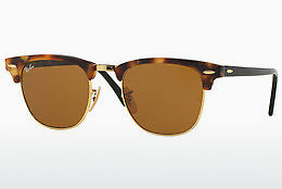 Ophthalmic Glasses Ray-Ban CLUBMASTER (RB3016 1160) - Brown, Havanna