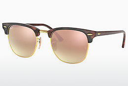 Ophthalmic Glasses Ray-Ban CLUBMASTER (RB3016 990/7O) - Brown, Havanna