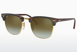 Ophthalmic Glasses Ray-Ban CLUBMASTER (RB3016 990/9J) - Brown, Havanna