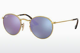 Ophthalmic Glasses Ray-Ban ROUND METAL (RB3447N 001/8O) - Gold